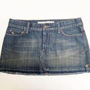Abercrombie & Fitch Medium Wash Skirt
